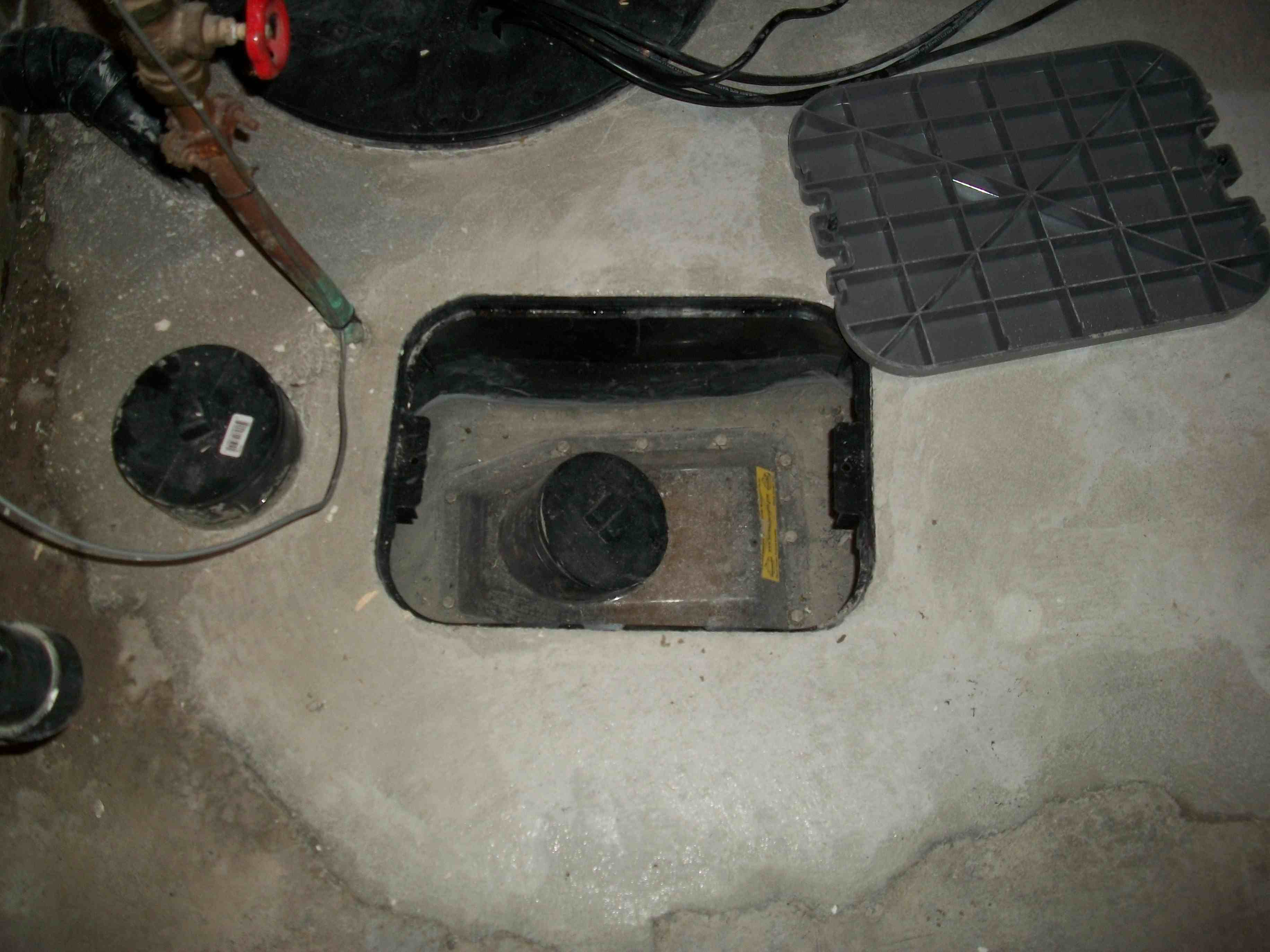 Backwater Valve After Installation Drainrooter Plumbing