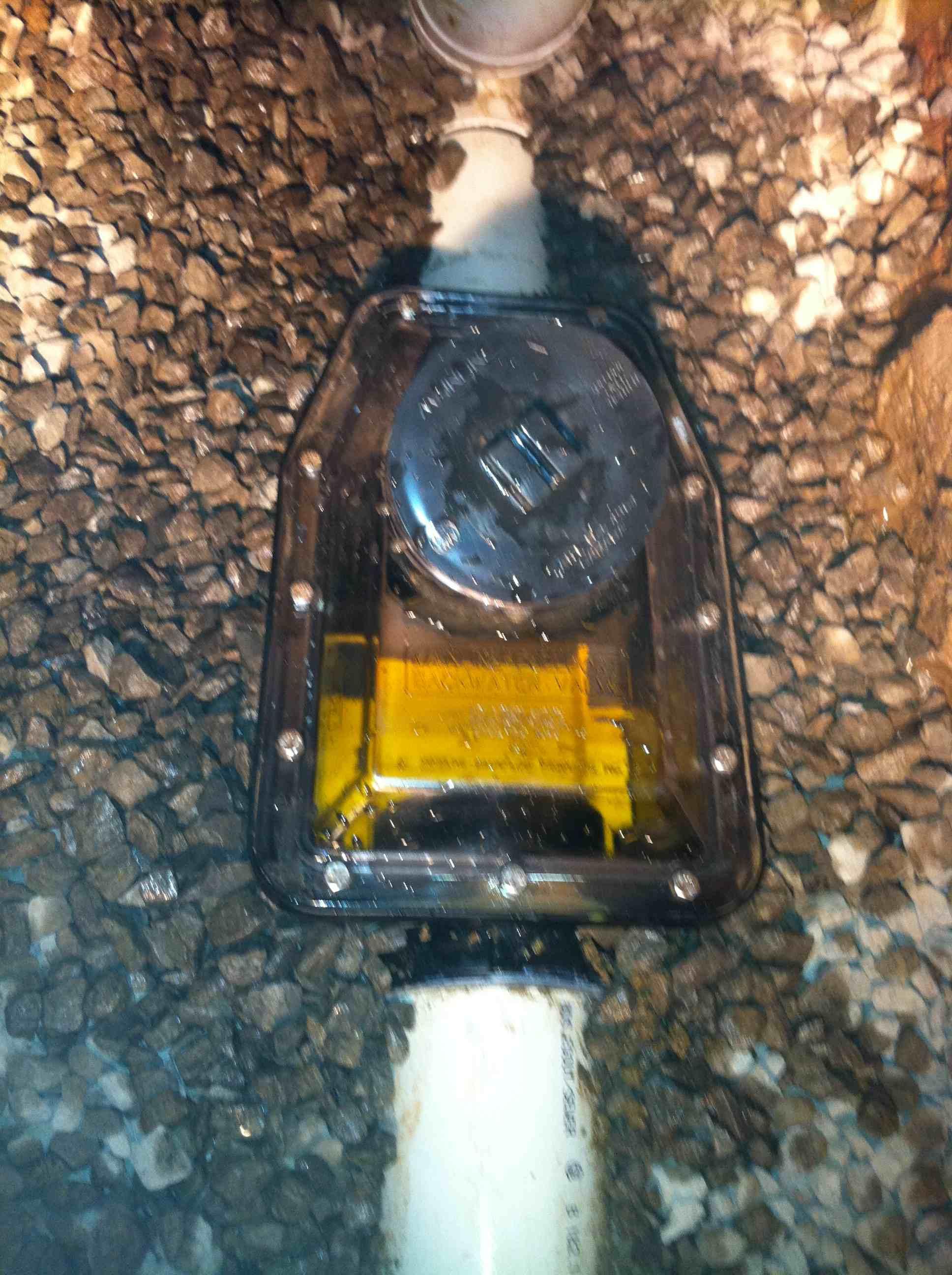 Backwater Valve In Basement Floor Drainrooter Plumbing