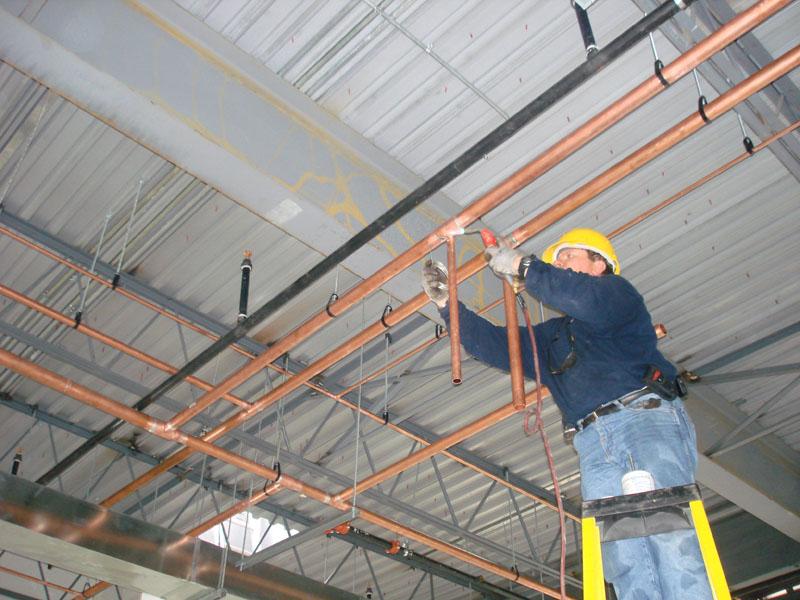 Commercial Plumbing Installation : Commercial plumbing drainrooter plumbing