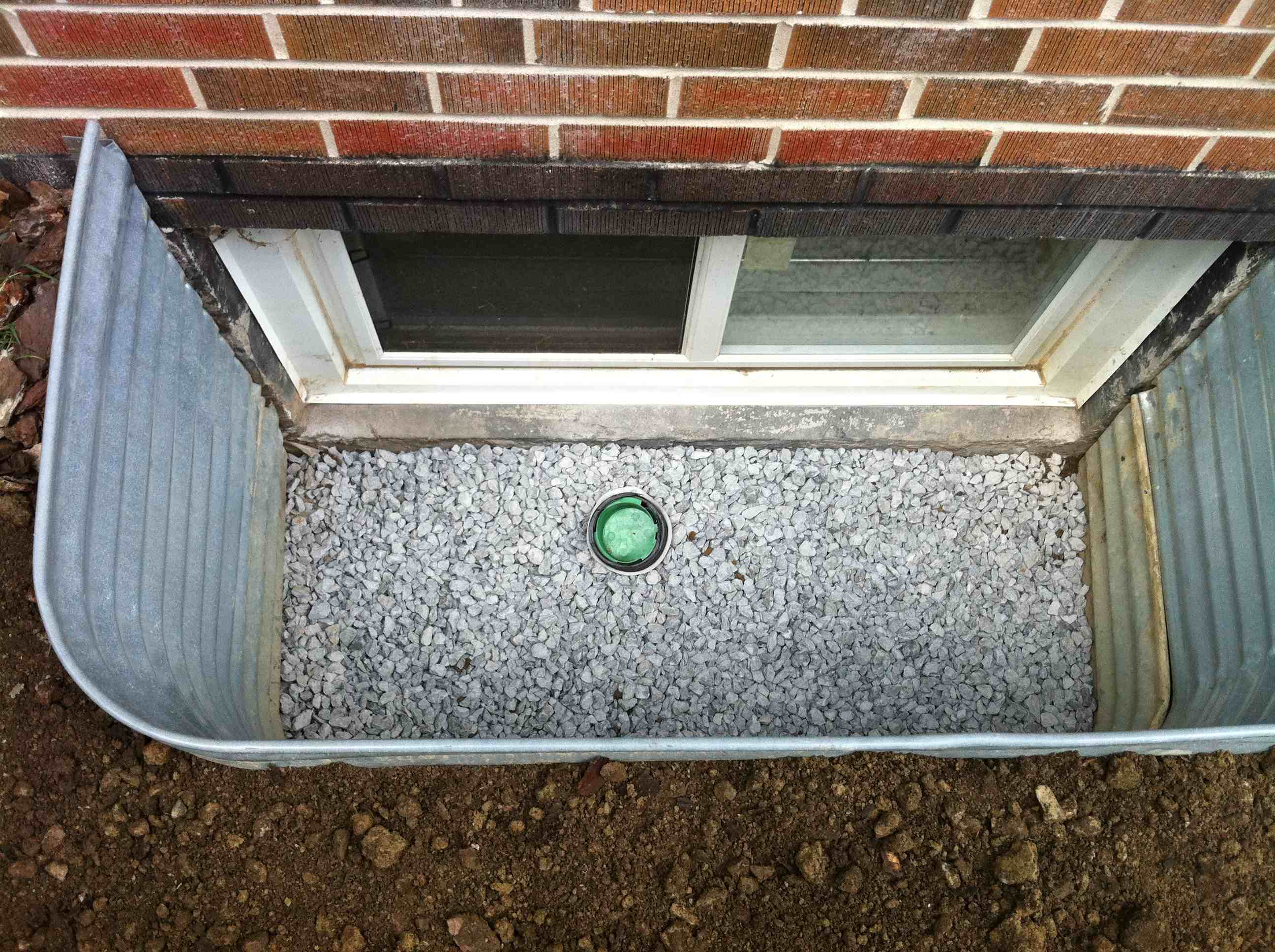 Window Well Installation Drainrooter Plumbing