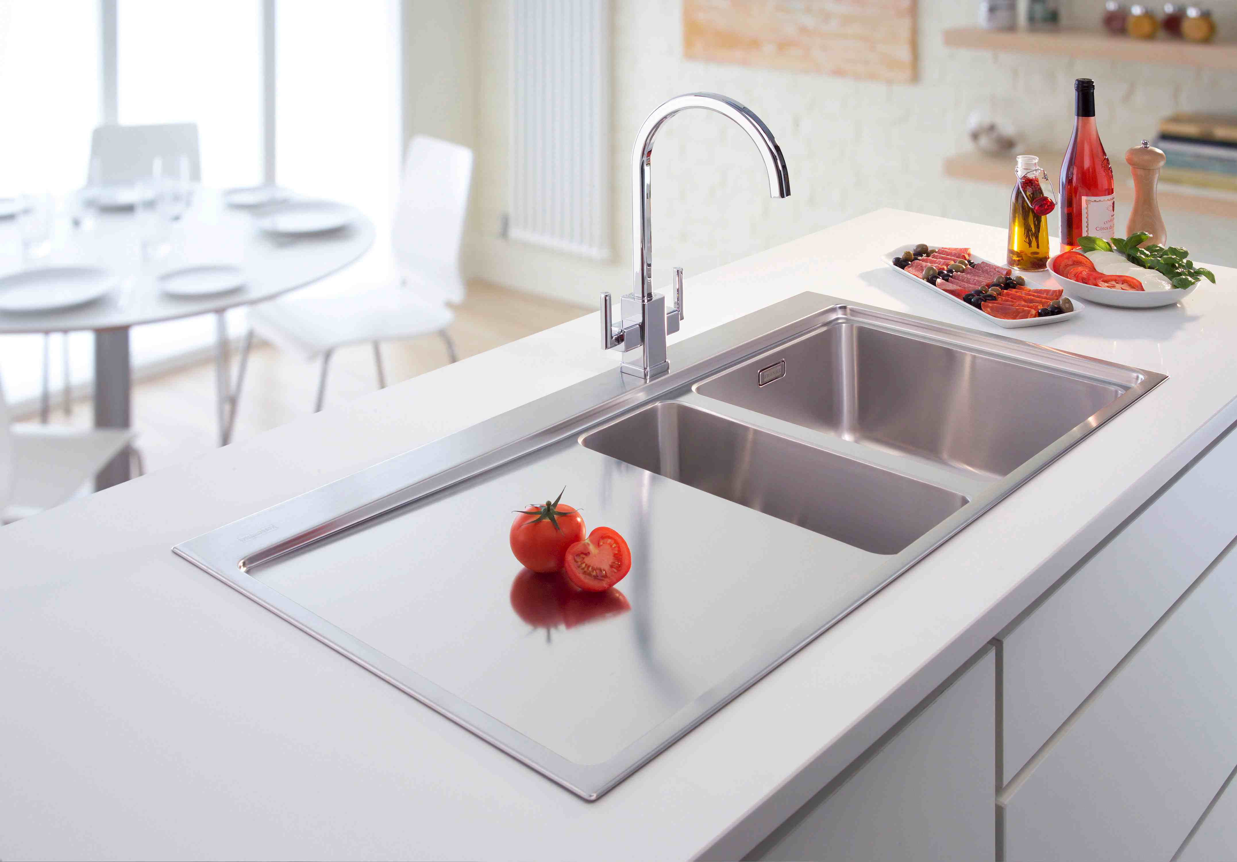 Twin Stainless Steel Kitchen Sink