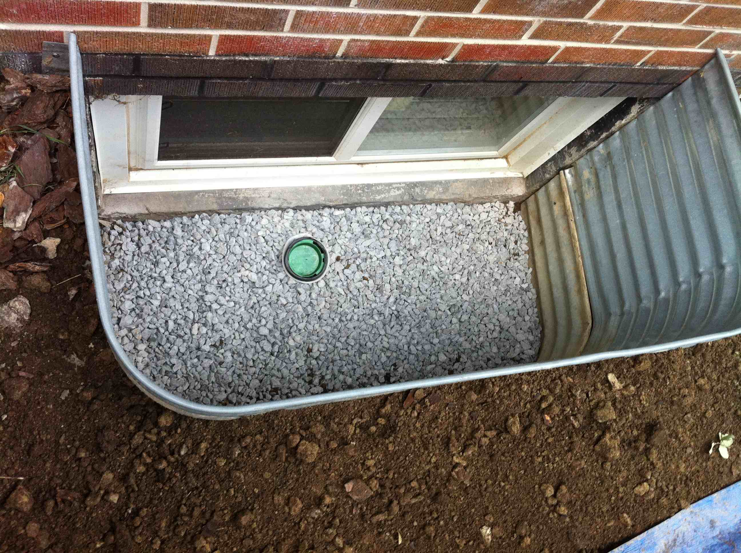 completed window well installation 1 drainrooter plumbing