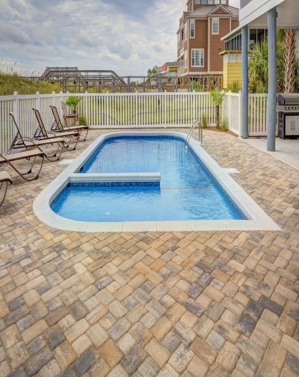 Fiberglass Pool Plumbing : Outdoor fiberglass pool drainrooter plumbing